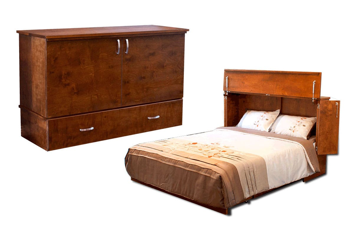 Murphy Queen Size Chest Cabinet Bed Cabinets Matttroy