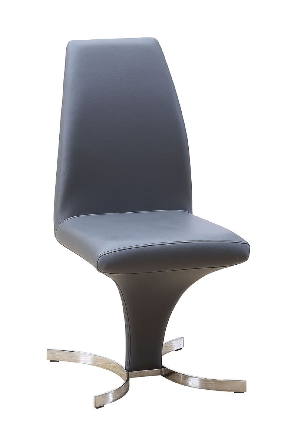 prague modern black chair (set of ) by jm furniture -