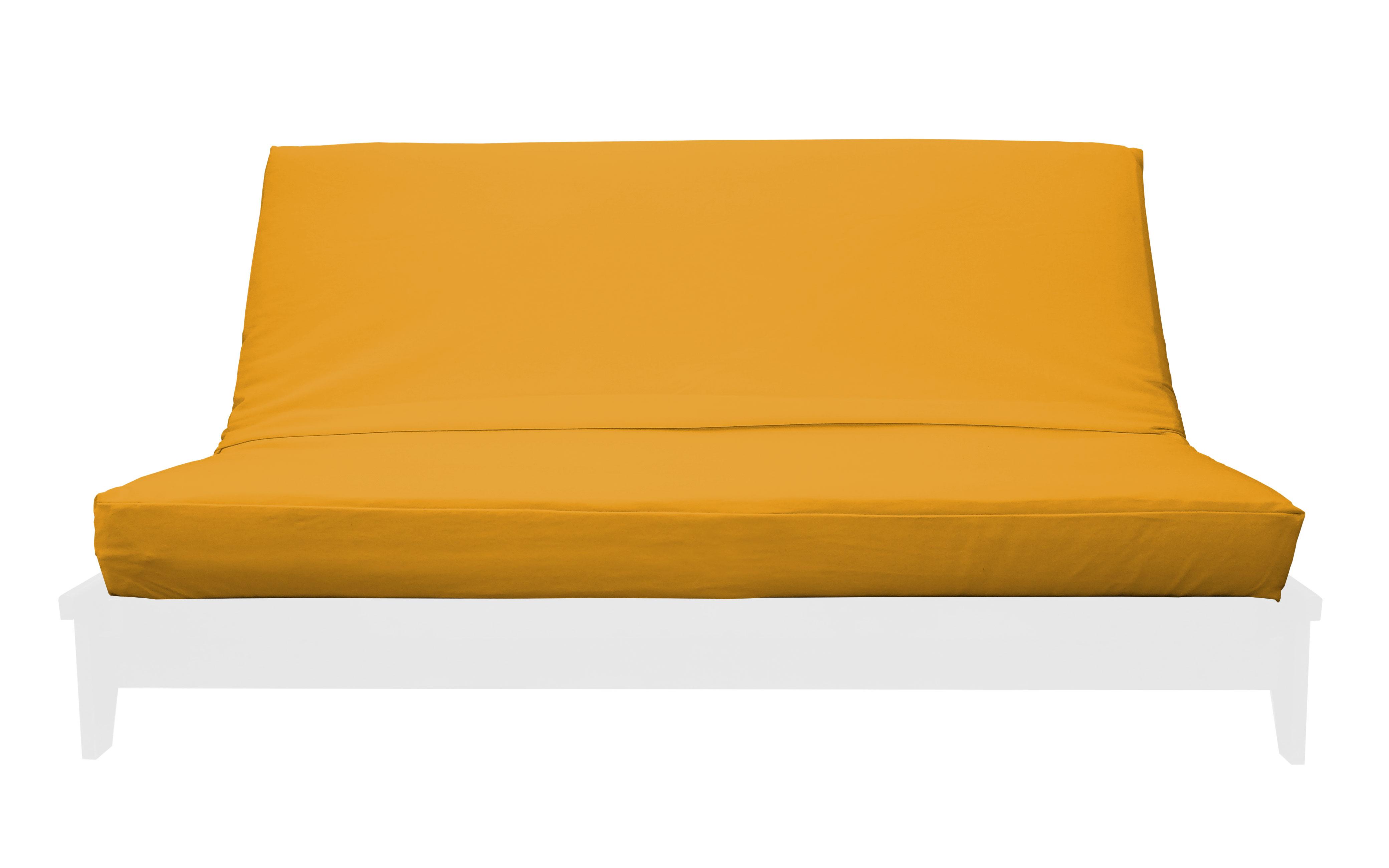Premium Solid Gold Futon Cover By Prestige