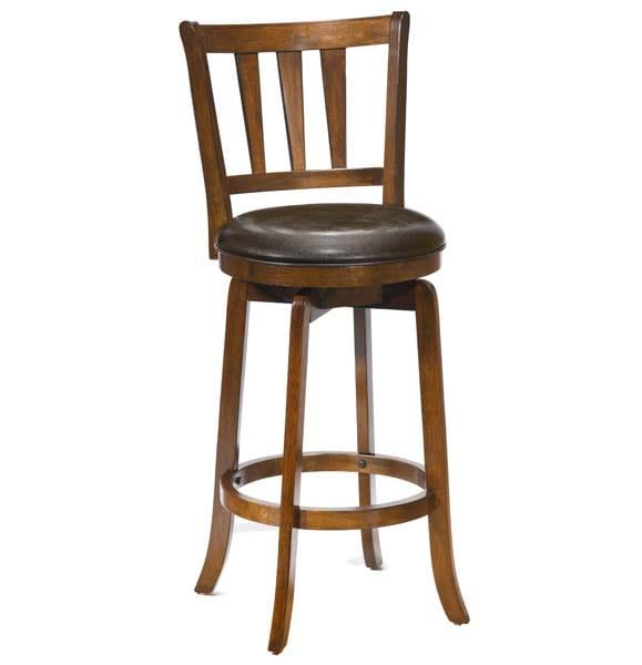 Admirable Presque Isle Swivel Counter Stool W Brown Vinyl 4478 827 By Hillsdale Creativecarmelina Interior Chair Design Creativecarmelinacom