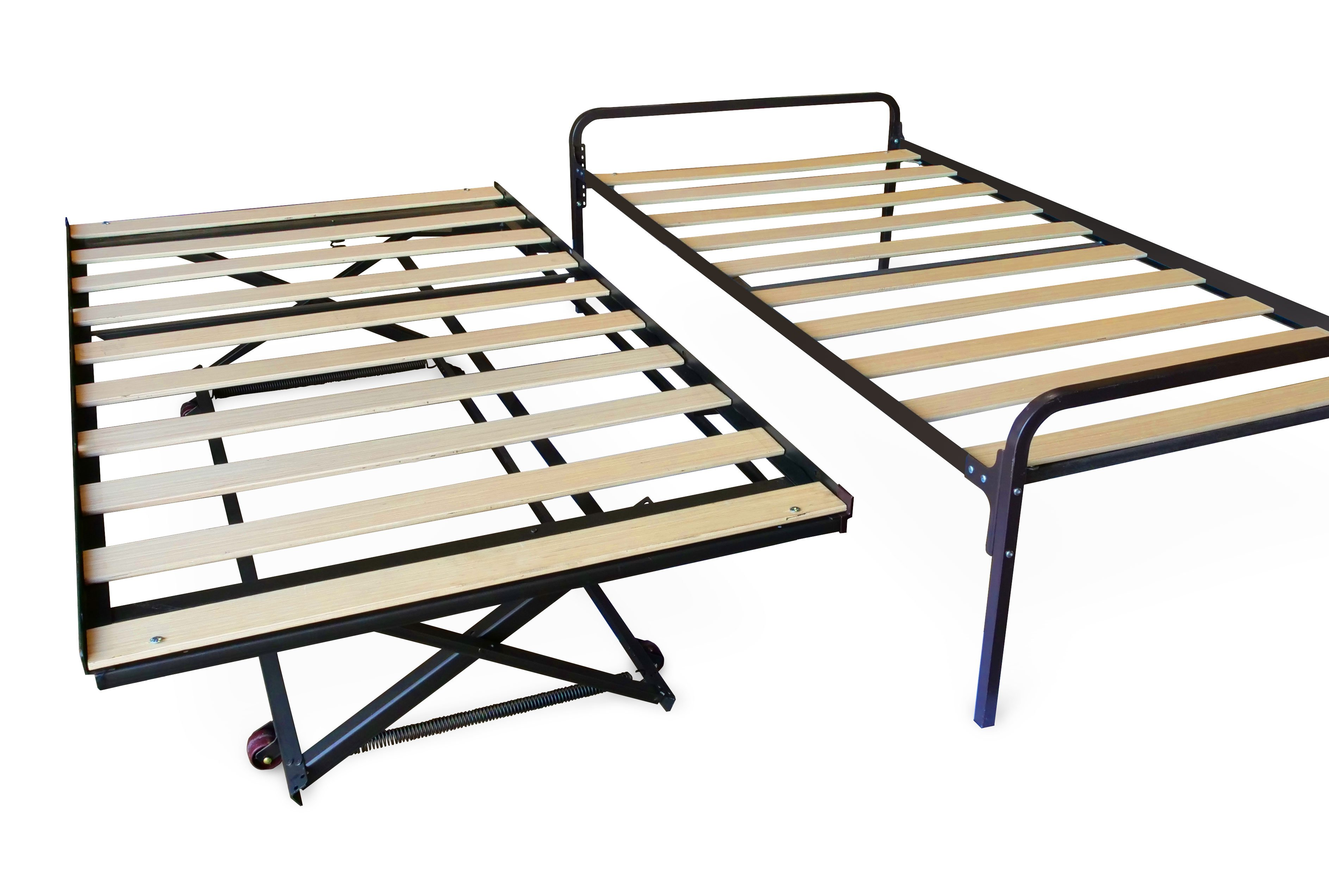 Hi Riser Complete Bed Twin W Pop Up Trundle By Prestige
