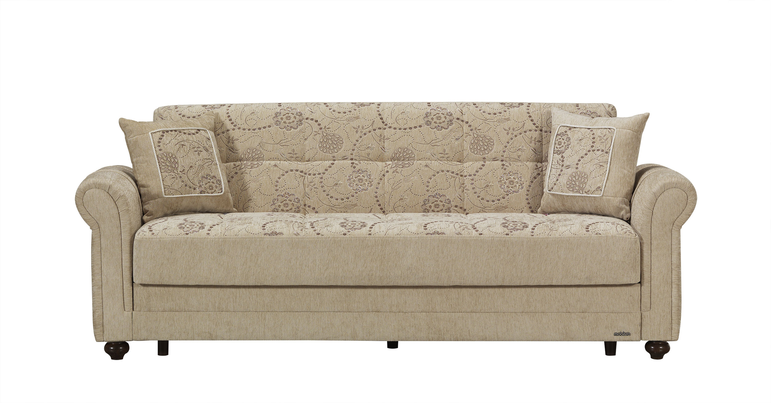 Regina home beige sofa bed by mobista for Sofa bed name