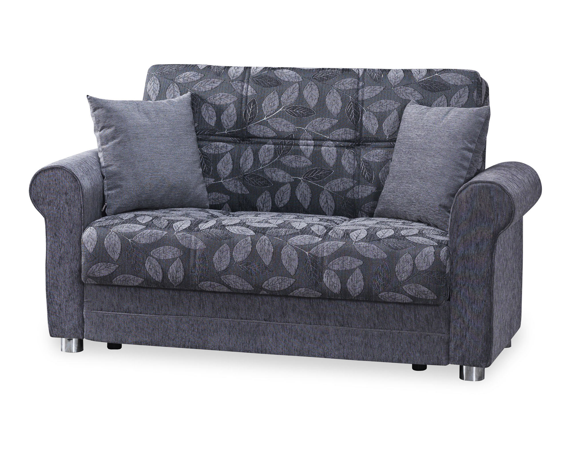 Rio Gray Convertible Loveseat by Casamode