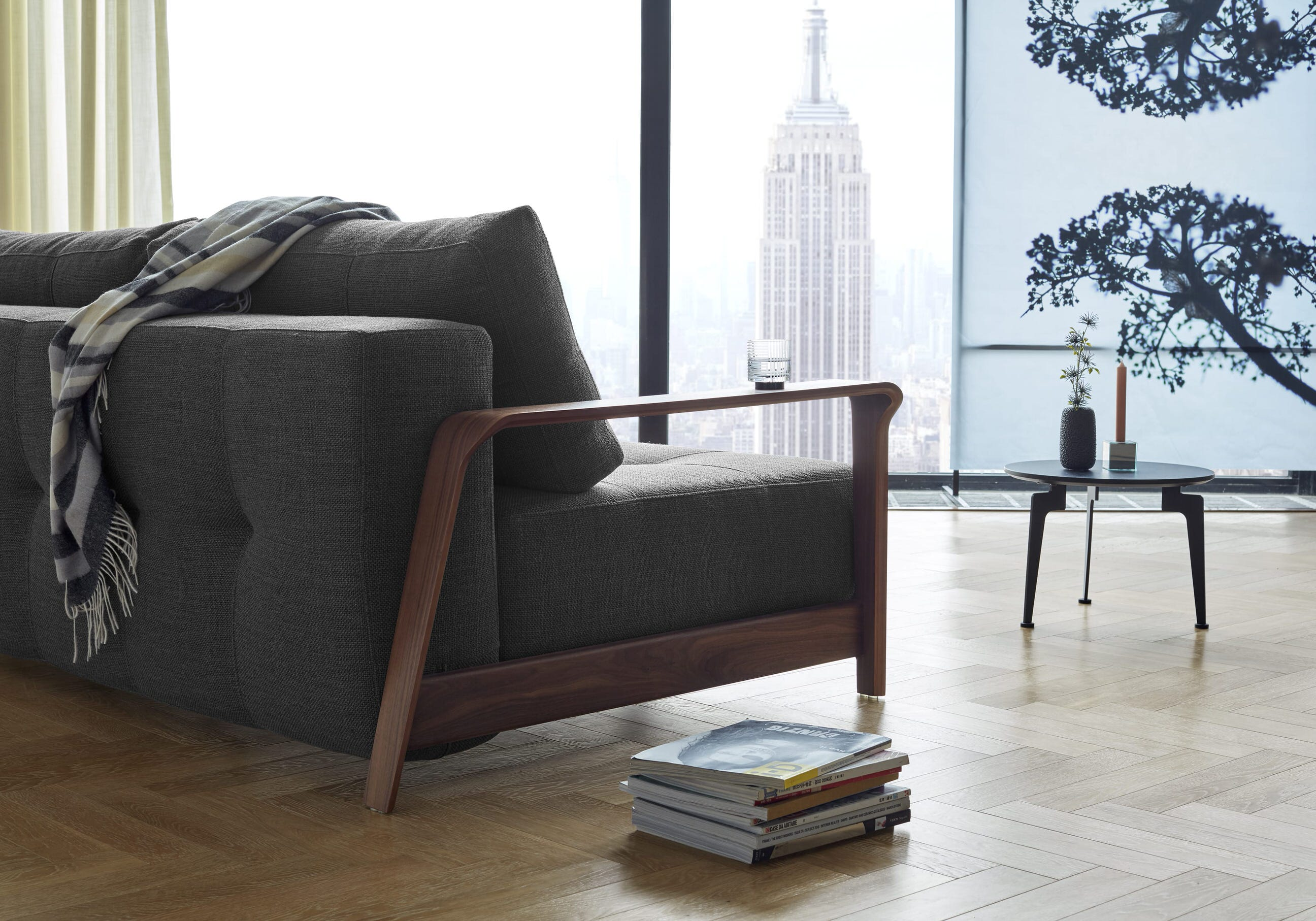 Ran Deluxe Excess Sofa Bed Queen Size Kenya Taupe By Innovation