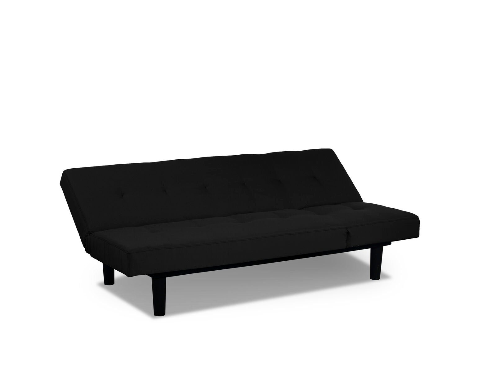 Mini Lounger Convertible Sofa Bed Black By Serta Lifestyle