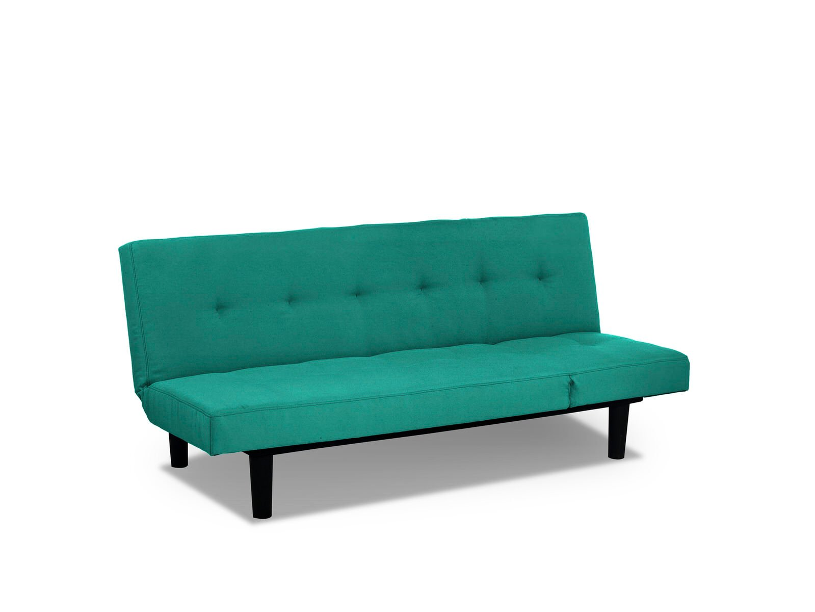mini lounger convertible sofa bed teal by serta lifestyle. Black Bedroom Furniture Sets. Home Design Ideas