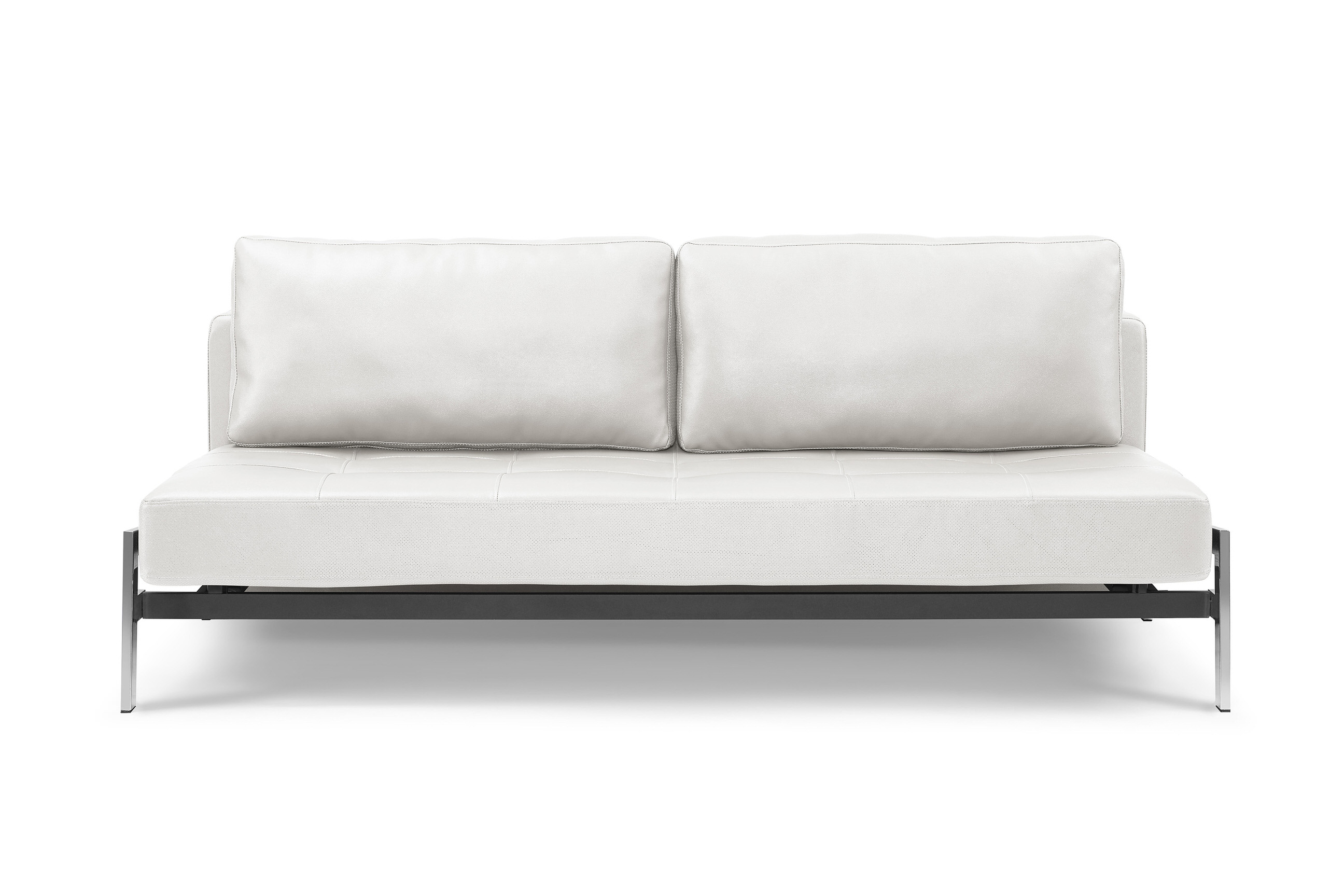 Peachy Borolo Aspen White Queen Leather Back Sofabed By Sealy Evergreenethics Interior Chair Design Evergreenethicsorg