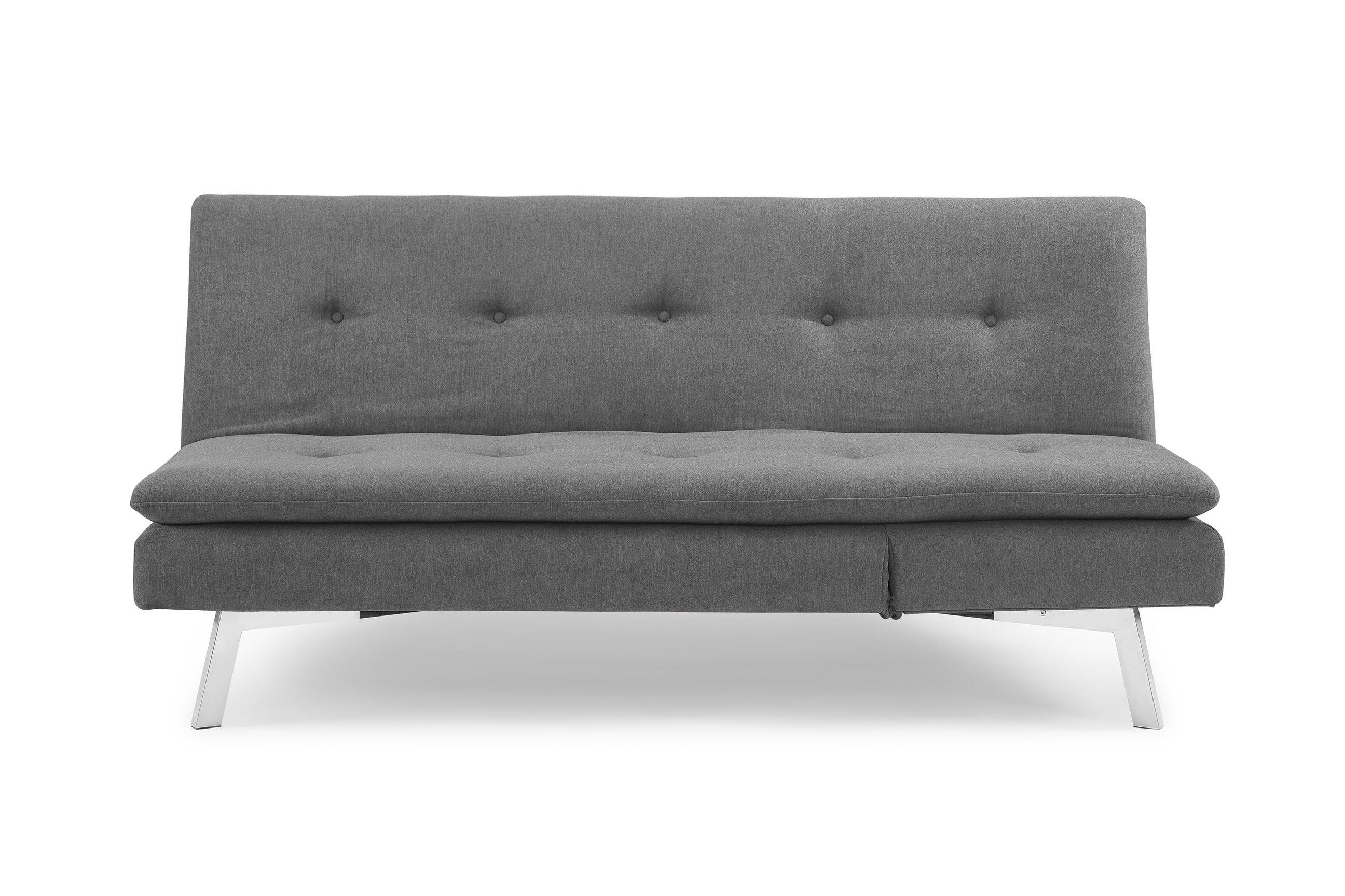 Chicago Melo Slate Sofa Convertible W