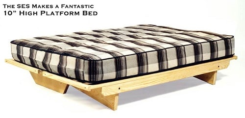 super ez sofa futon frame by collegiate furnishings