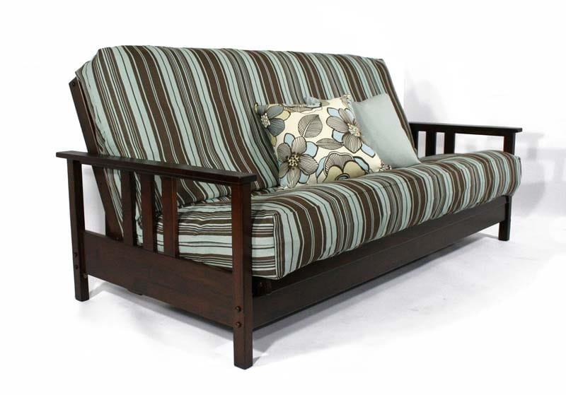 Durango Dark Cherry Full Wall Hugger Futon Frame By Strata Furniture