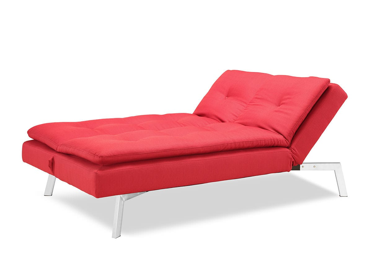 Shelby Bedroom Furniture Shelby Convertible Sofa Bed Red By Lifestyle Solutions