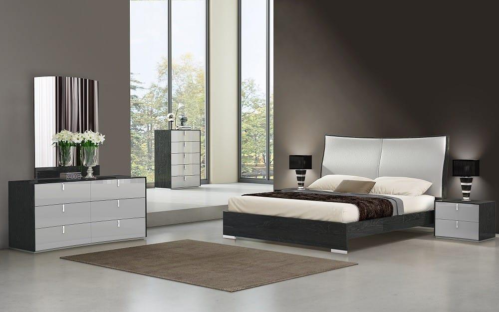 Vera Modern Bedroom Set By J M Furniture