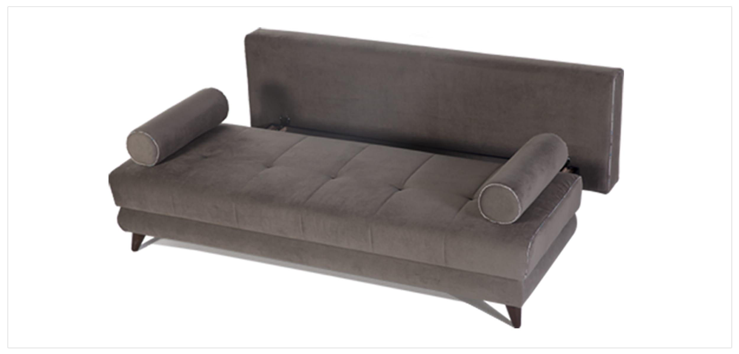 Stella Image Gray Sofa & 2 Chairs Set by Sunset