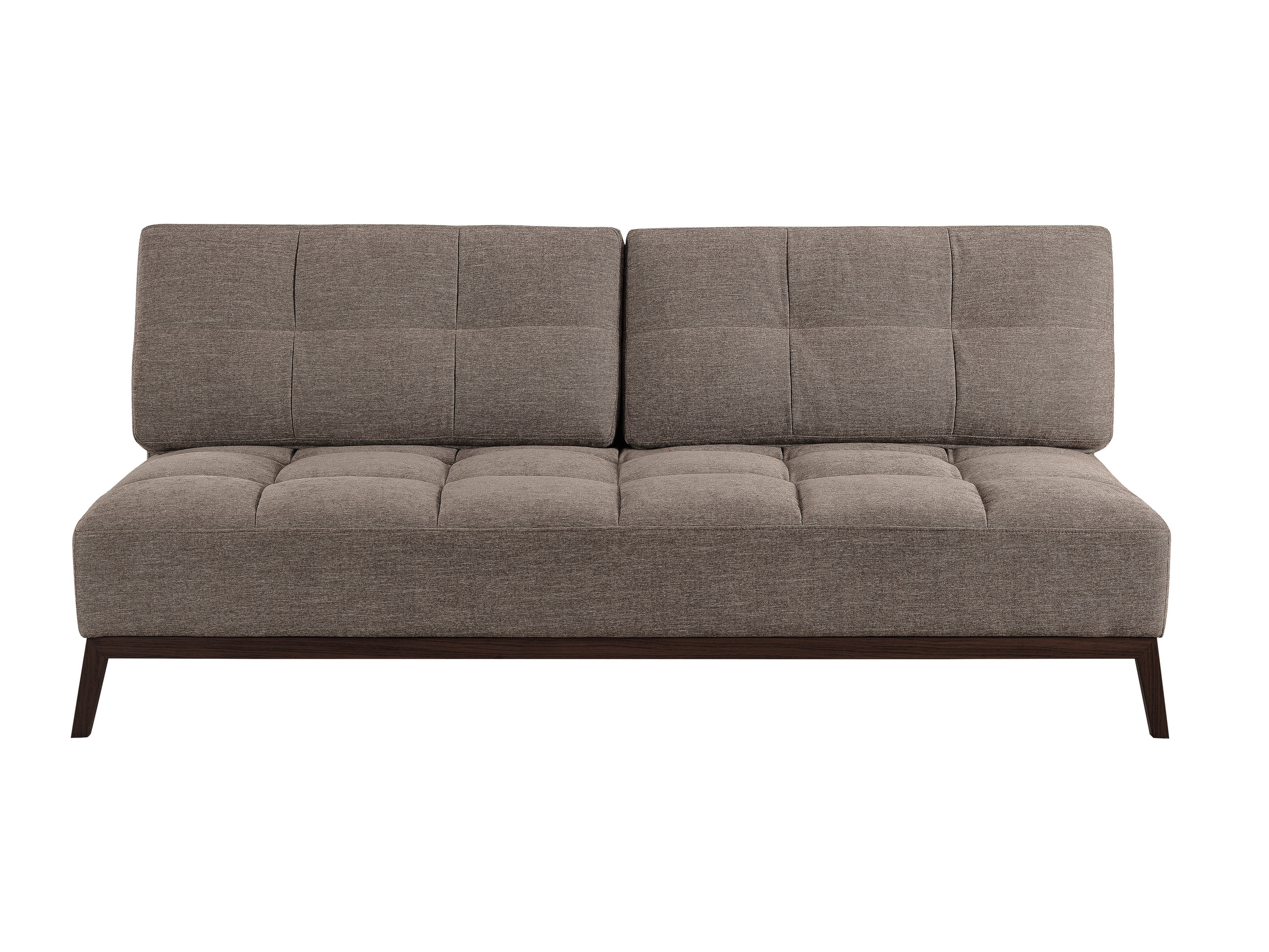Santana Convertible Sofa Bed Brown by Lifestyle Solutions