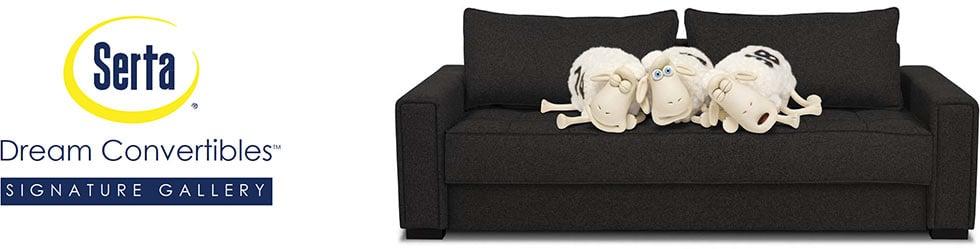 Sydney Microfiber Chair With Storage Black Lifestyle