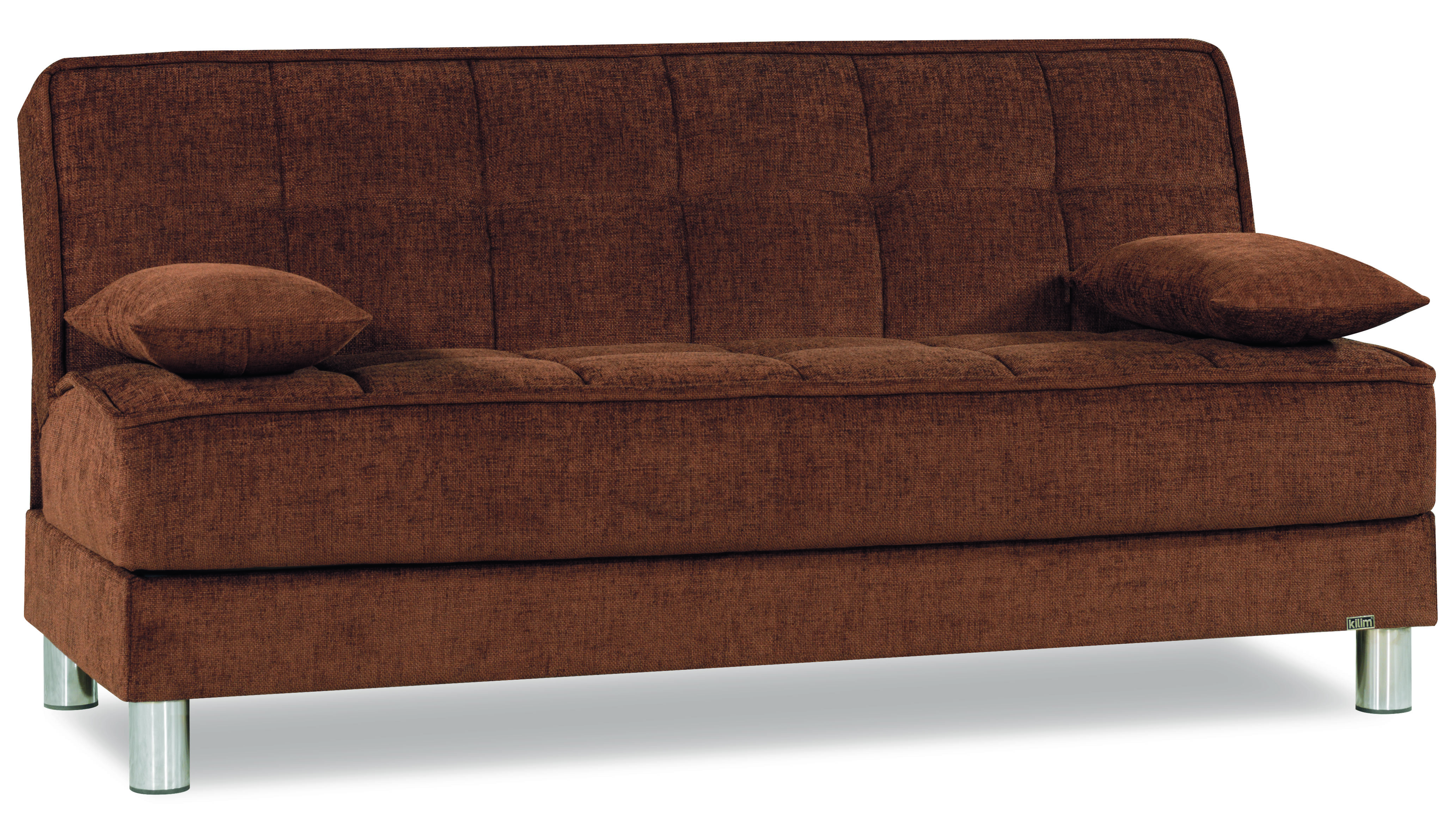 Smart Fit Brown Convertible Sofa by Casamode