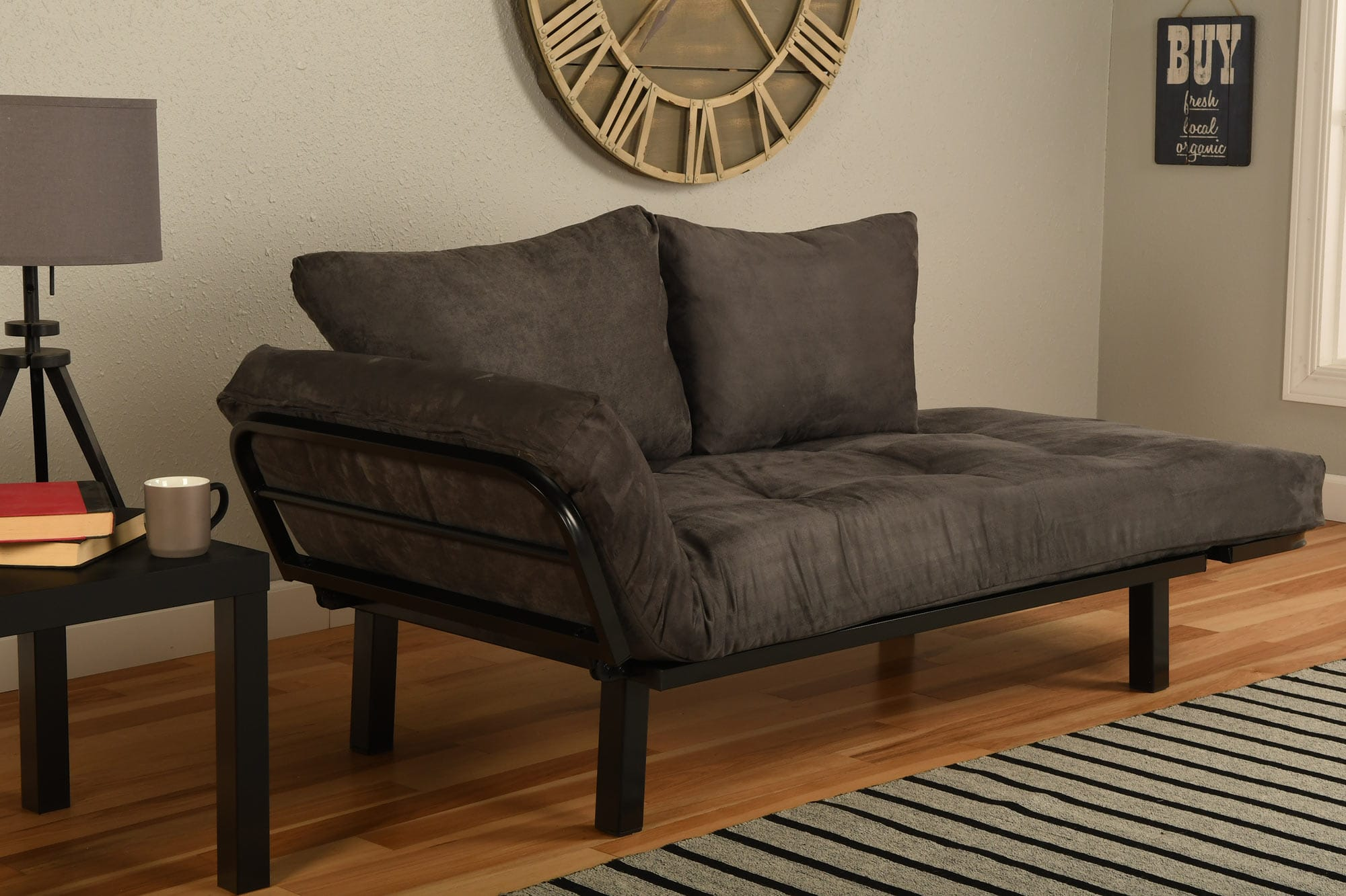 mattress college picture futons futon hill style image with black frame exelent metal r ideas round