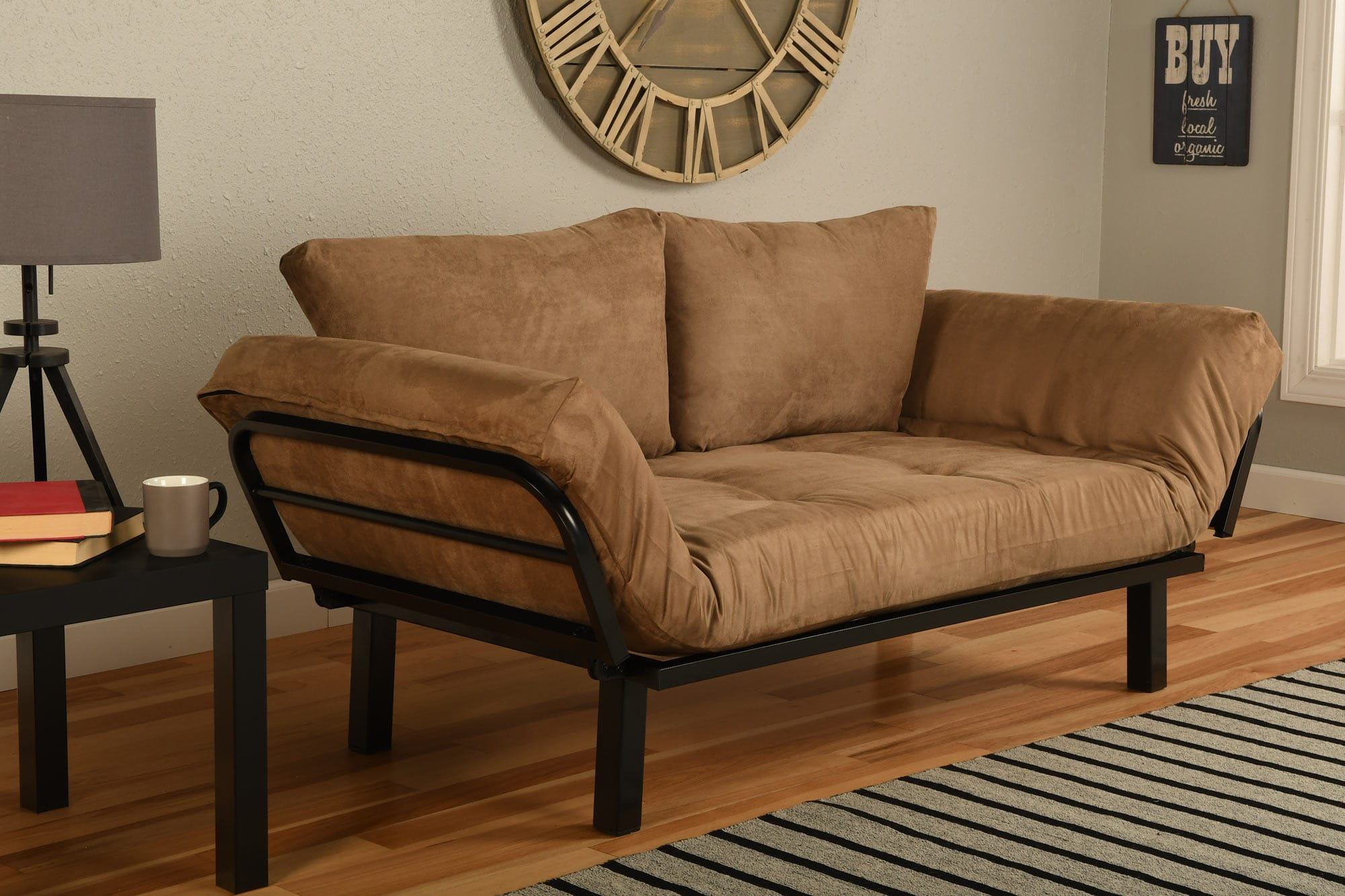 Ely Futon Daybed Lounger With