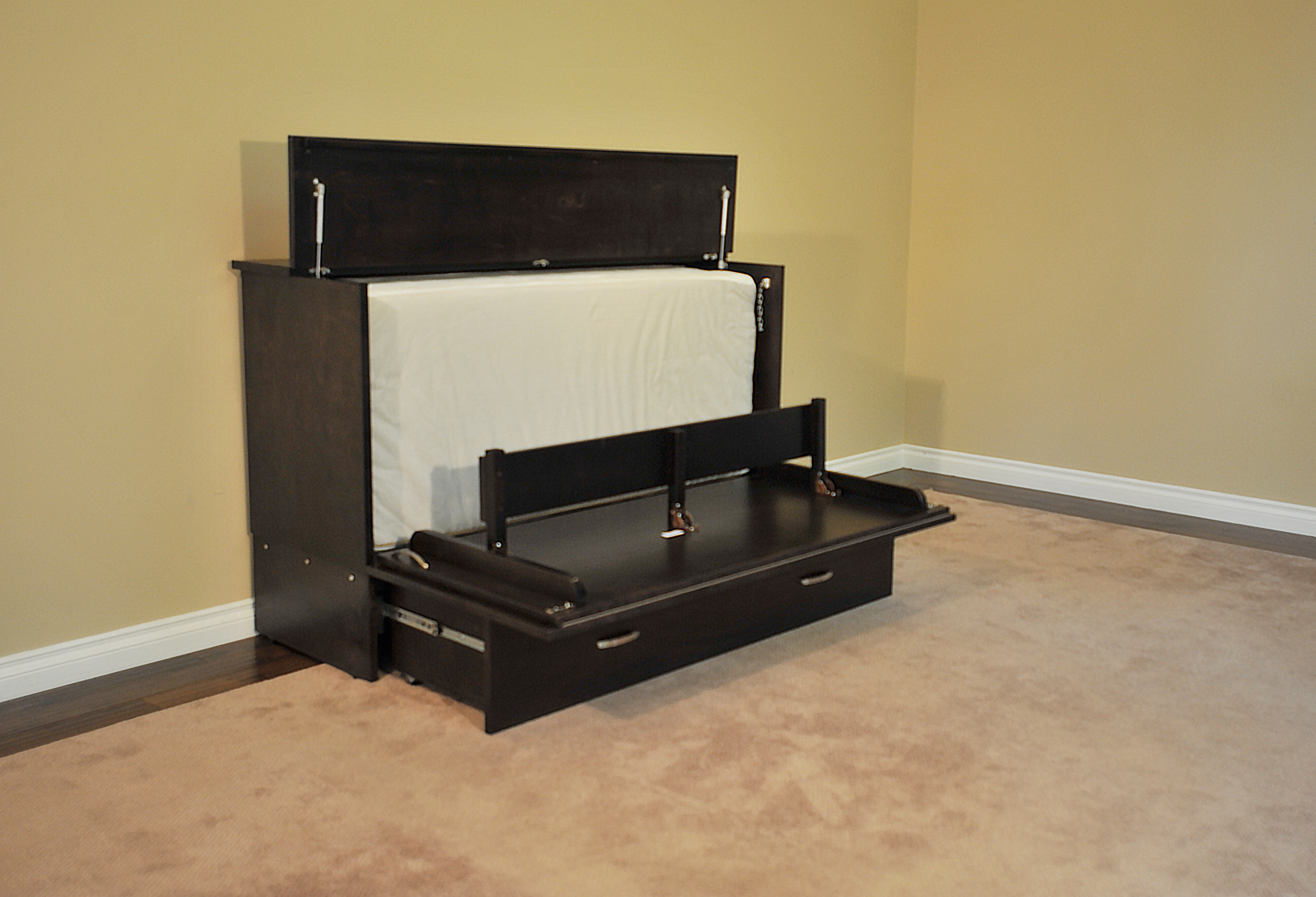 Murphy Bed Cabinet Space Saving