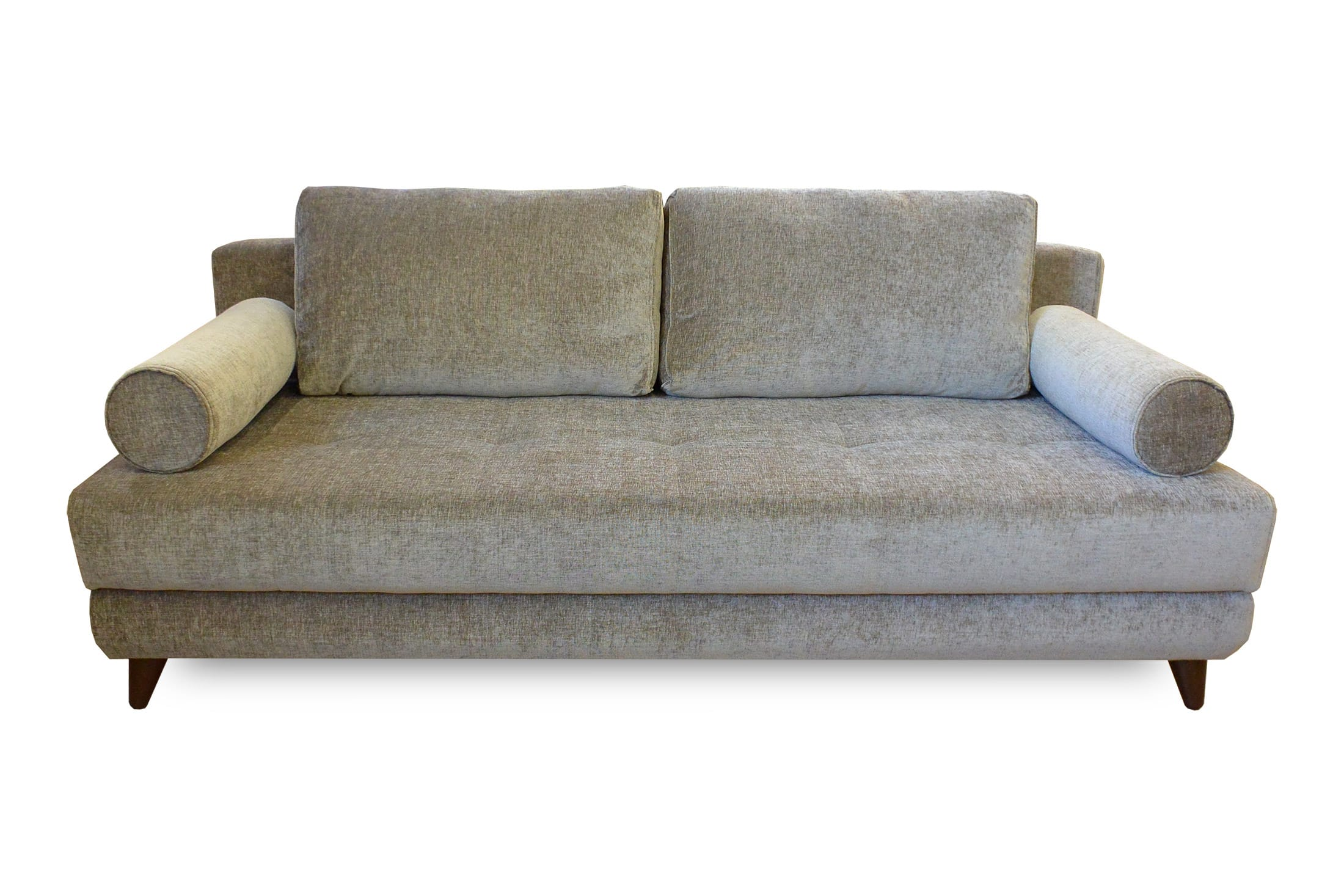 Stella Jennefer Light Brown Convertible Sofa Bed Queen