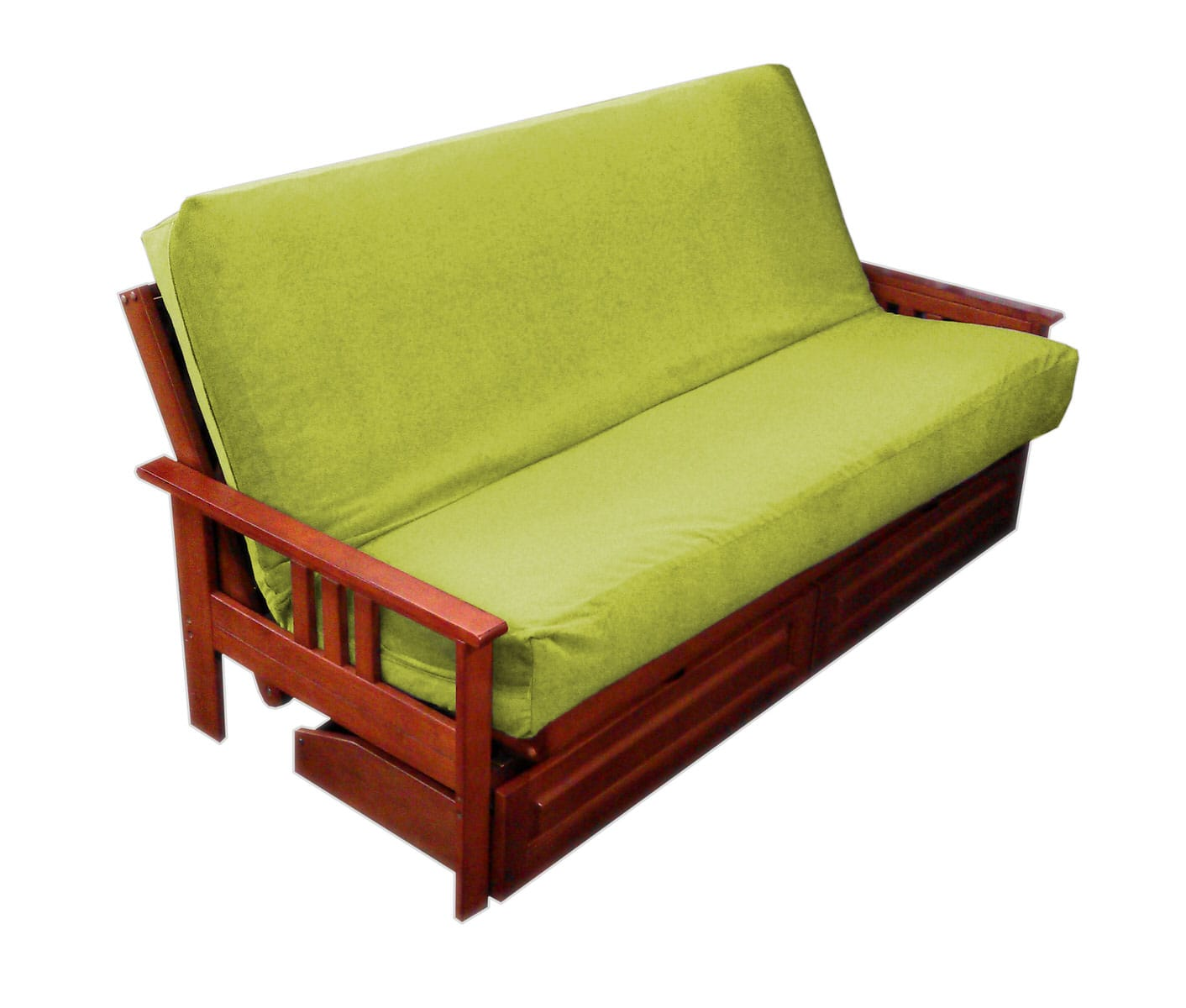Import Collection Kiwi Microsuede Futon Cover
