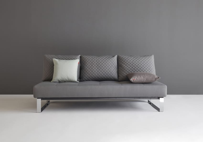 Supremax Quilt Sofa Bed (Full Size) Coastal Seal Gray By Innovation
