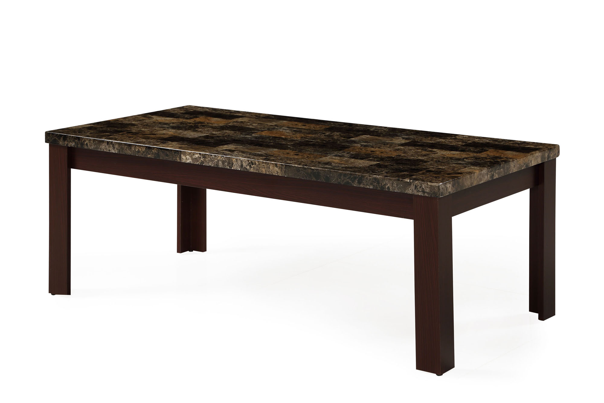 Coffee Table T850c Red Brown By Global Furniture