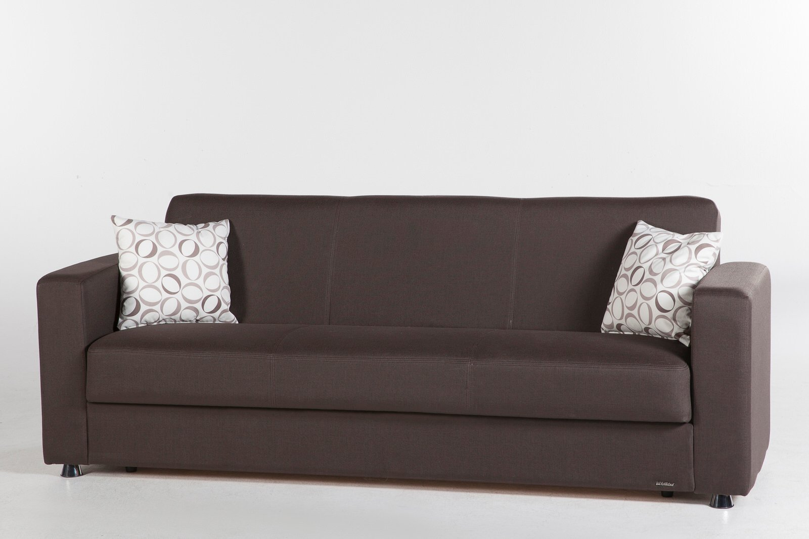 Tokyo Diego Brown Convertible Sofa Bed by Sunset