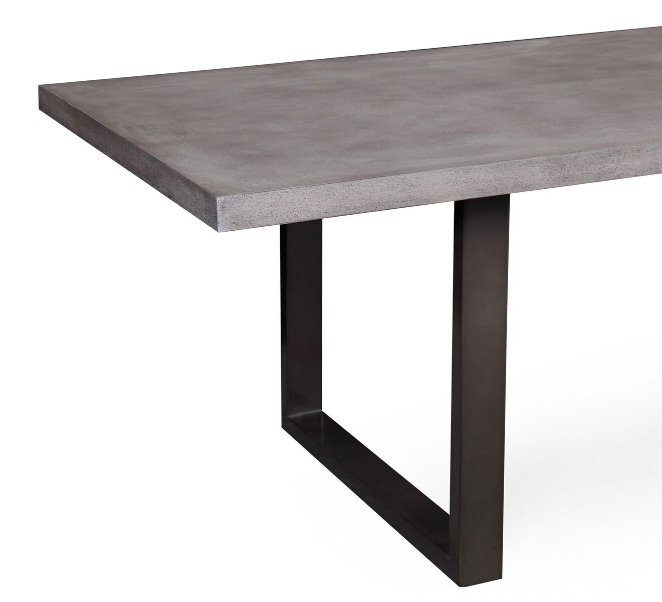 Edna Grey Concrete Dining Table by TOV Furniture