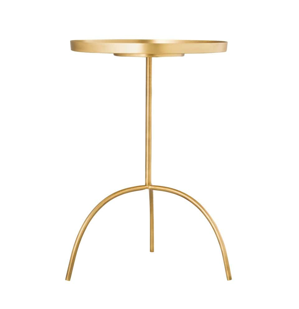 - Enamel Black & Green Accent Table By TOV Furniture