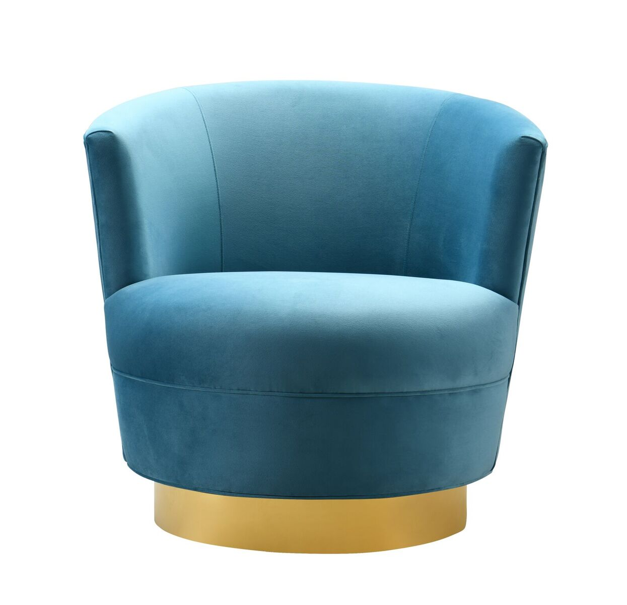 Prime Noah Lake Blue Swivel Chair By Tov Furniture Unemploymentrelief Wooden Chair Designs For Living Room Unemploymentrelieforg