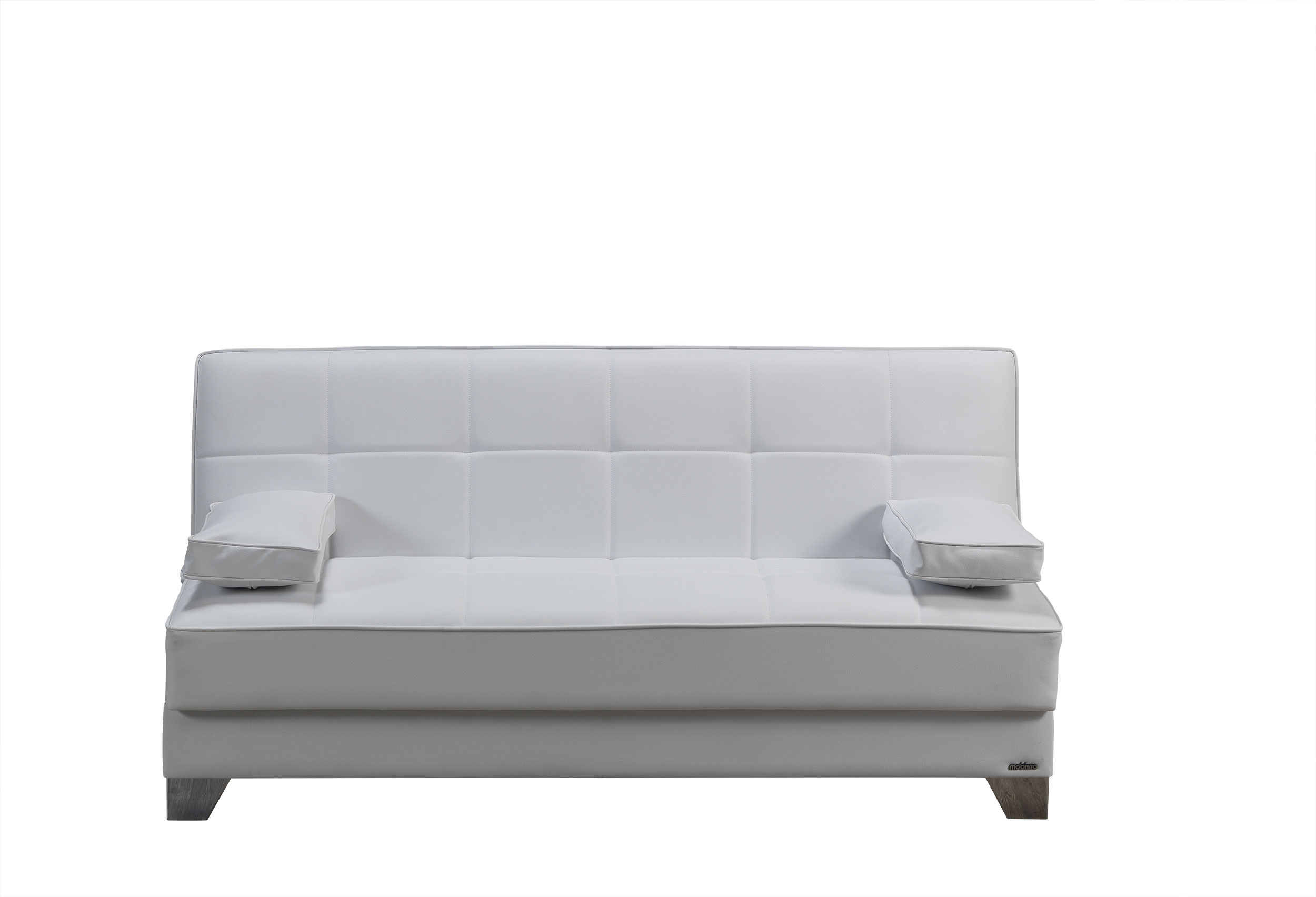 Amazing Tribeca Nyc Prestige White Sofa Bed By Mobista Onthecornerstone Fun Painted Chair Ideas Images Onthecornerstoneorg