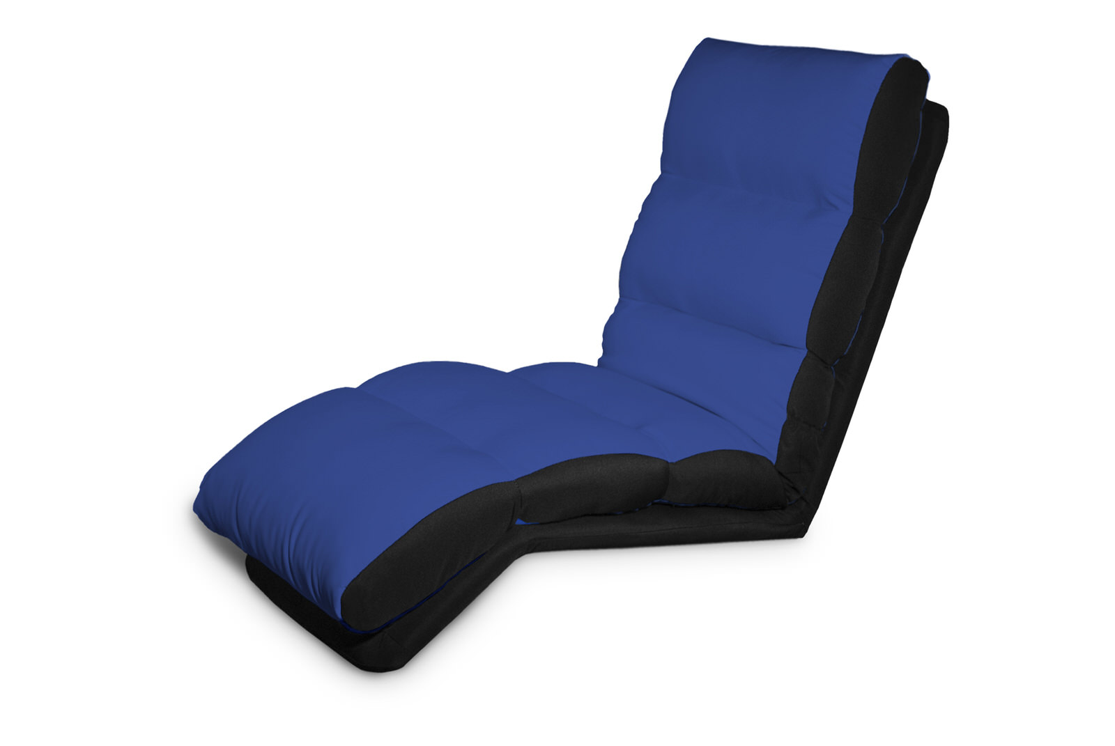 Turbo Lounger Convertible Chair Bed Blue by Serta Lifestyle