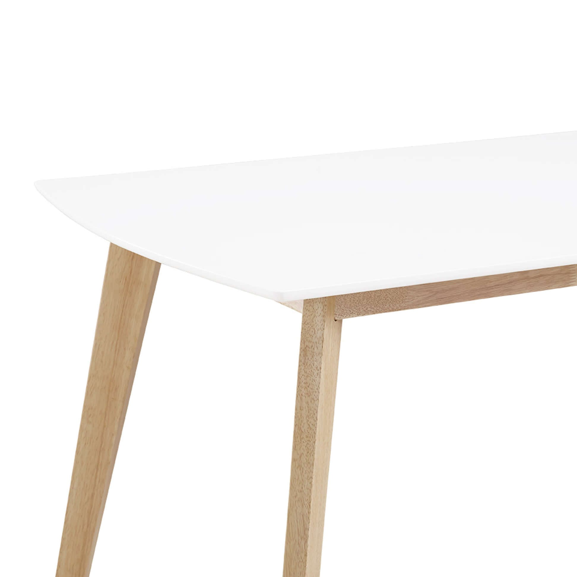 60 inch retro modern wood dining table by walker edison 60 i