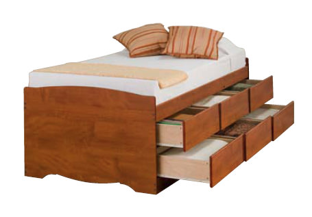 ... Tall Twin Platform Storage Bed With 6 Drawers | Bed Mattress Sale
