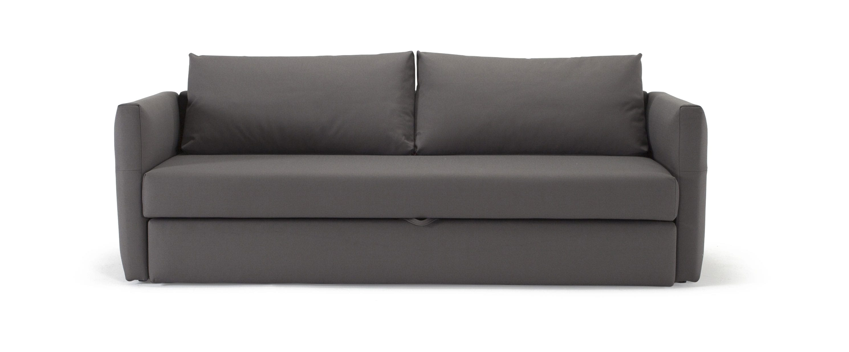 Toke Sofa Bed Full Size Coastal Seal Gray by Innovation