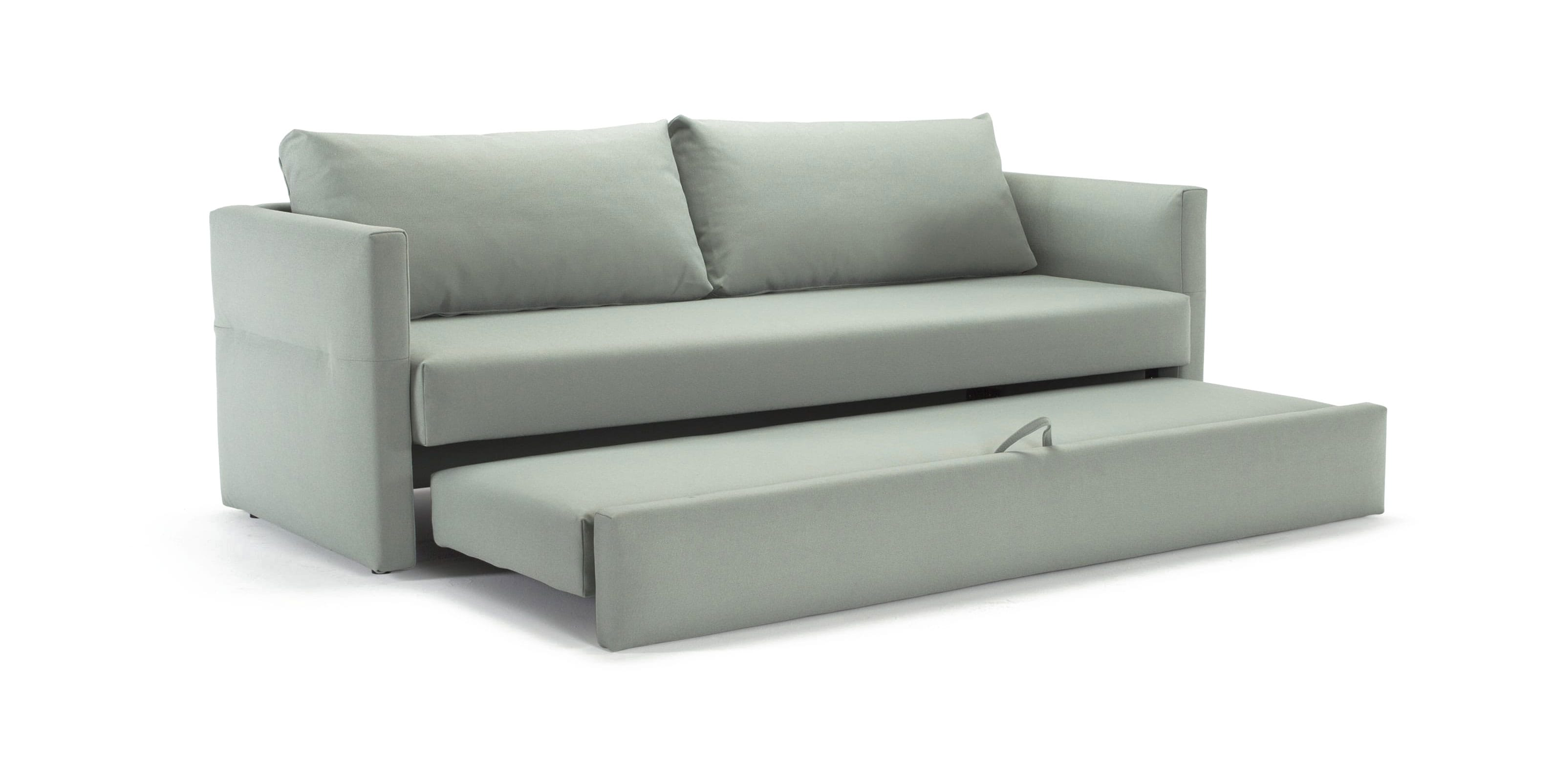 Toke Sofa Bed (Full Size) Coastal Nordic Sky by Innovation