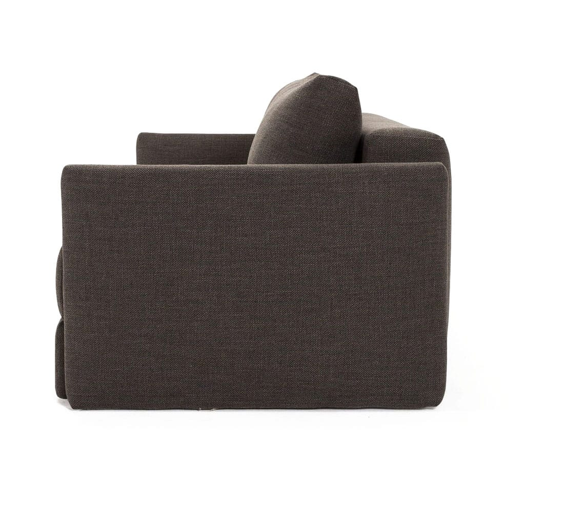 Tripi Sofa Bed W Arms Sleek Kenya Taupe By Innovation