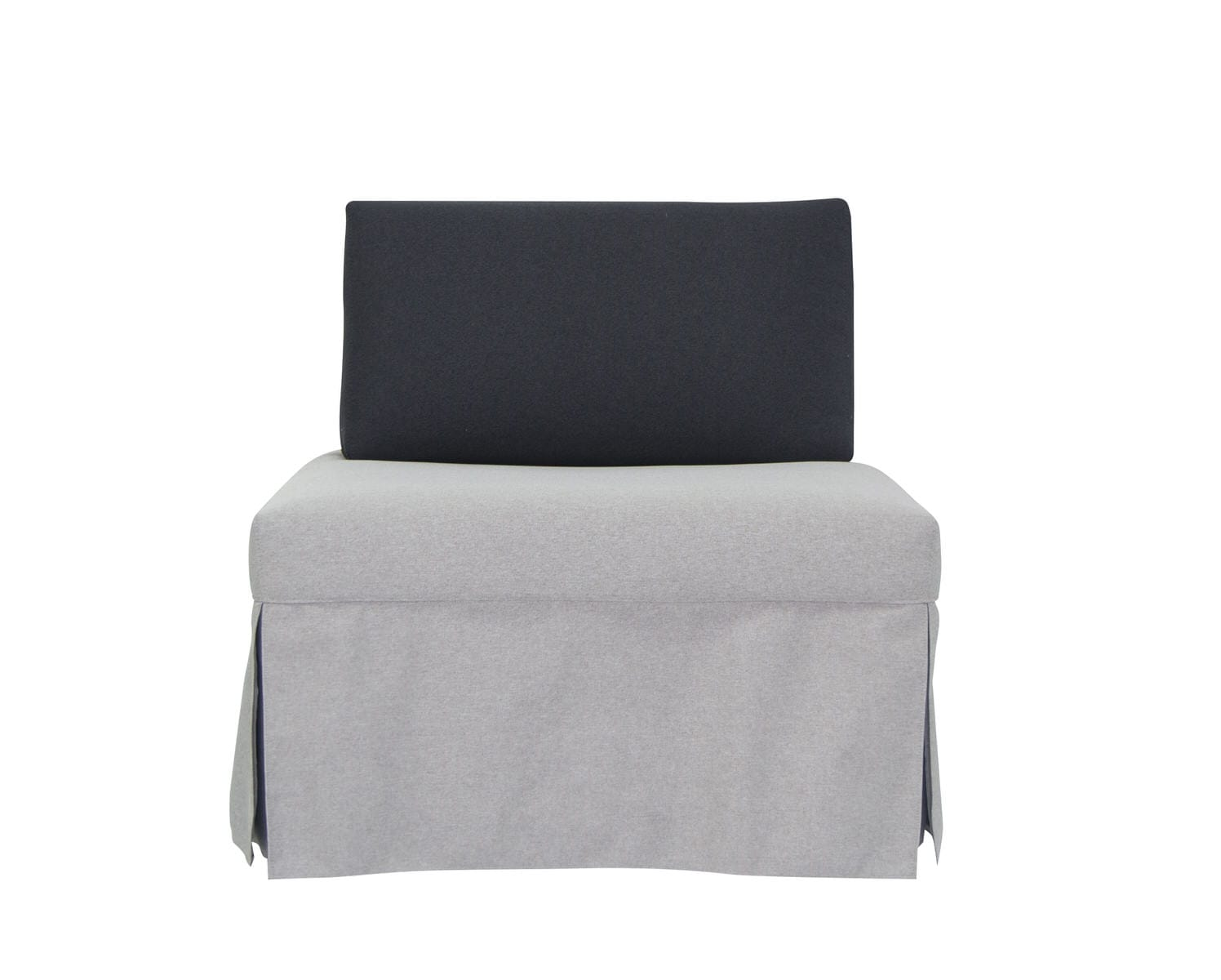Picture of: Trona Twin Dary Grey Sleeper Chair By Pezzan Furniture