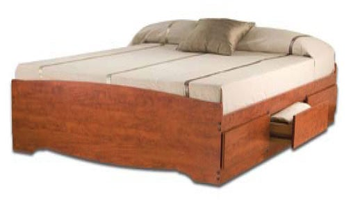 Storage Bed Twin Xl Platform Storage Bed Frame