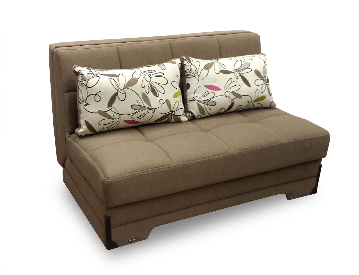 Twist Optimum Brown Loveseat Sleeper By Istikbal Sunset