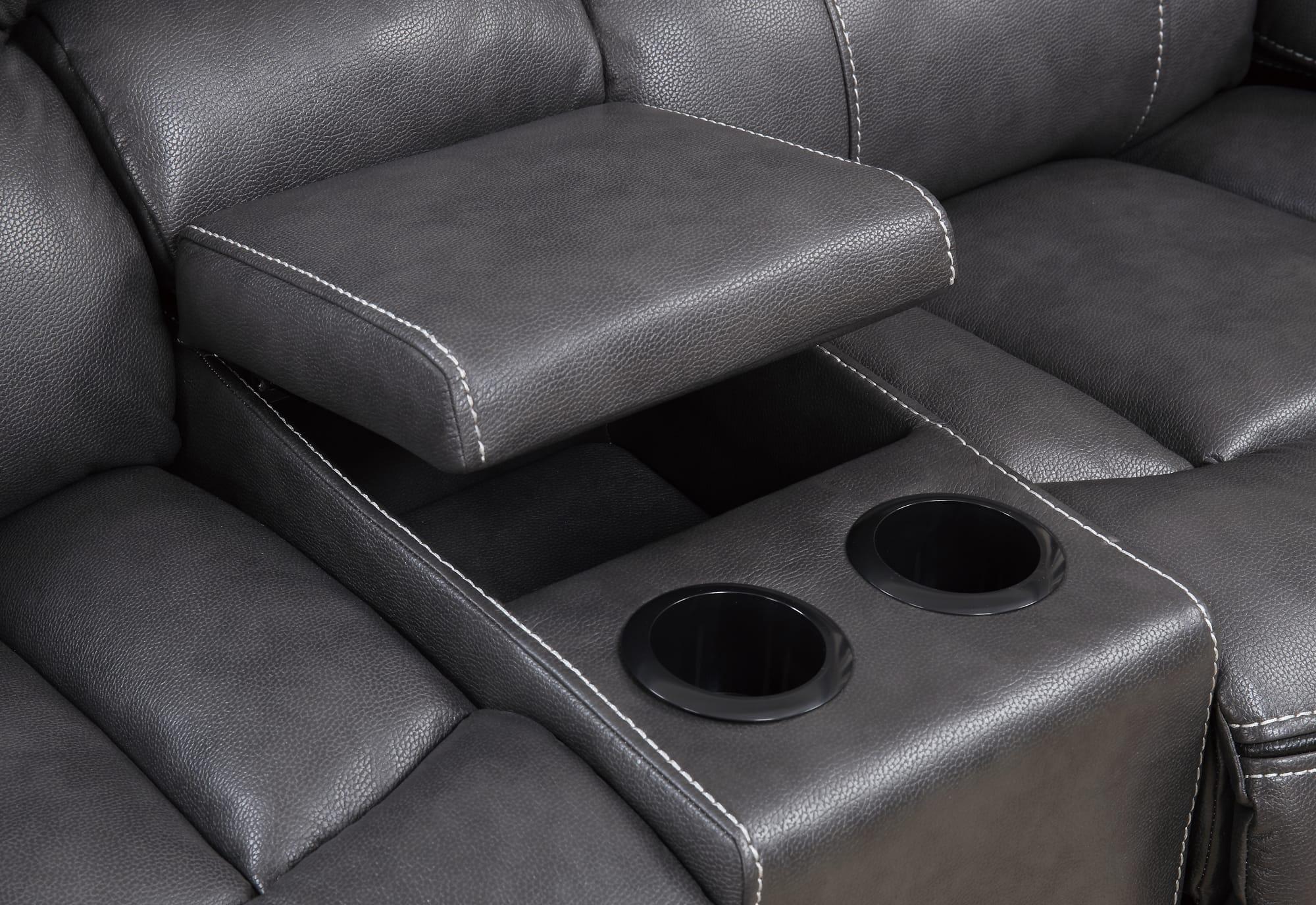 sofas leather loveseats off acme black reclining loveseat