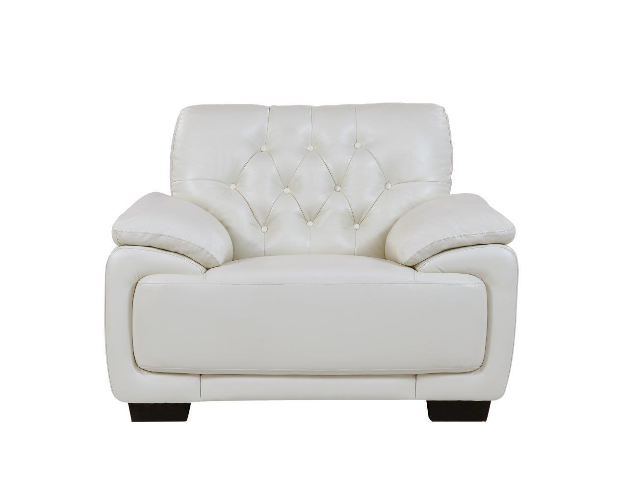 Remarkable U1066 Pluto White Leather Chair By Global Furniture Inzonedesignstudio Interior Chair Design Inzonedesignstudiocom