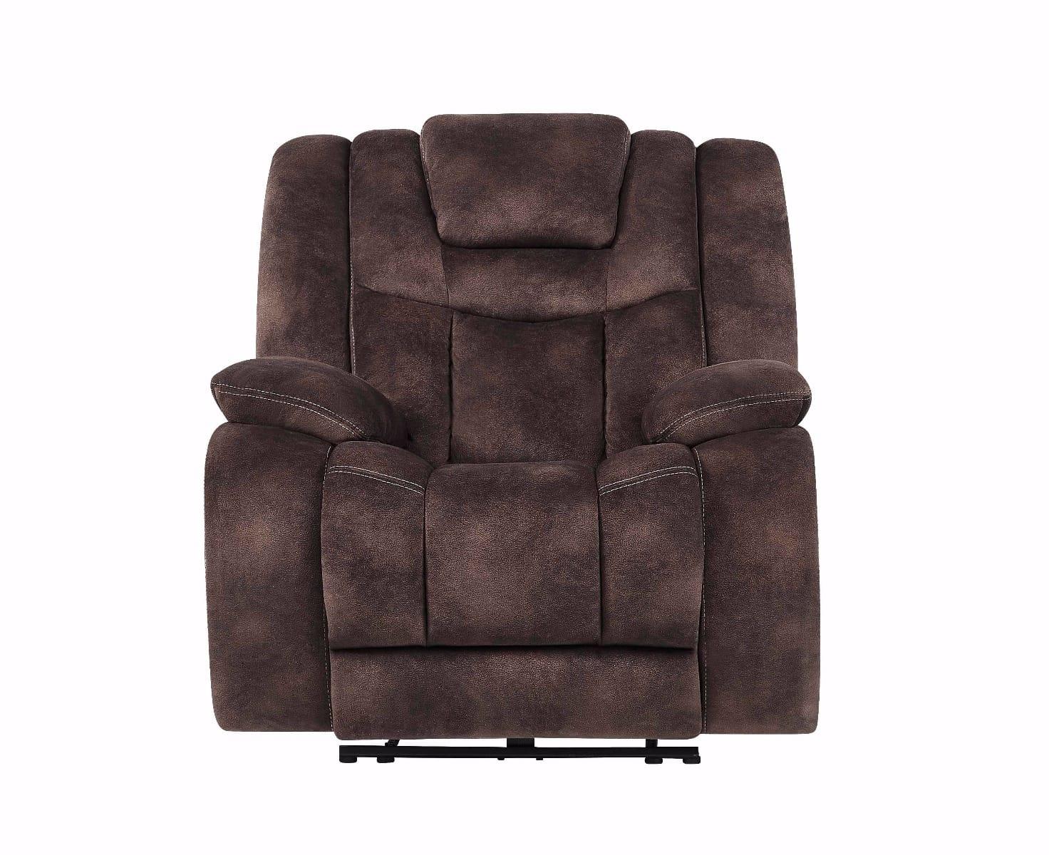 Amazing U1706 Night Range Chocolate Fabric Power Reclining Chair By Global Furniture Frankydiablos Diy Chair Ideas Frankydiabloscom