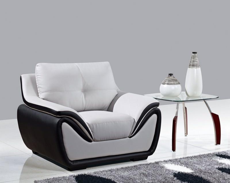 Chair U3250 Grey Black Ultra Bonded By Global Furniture