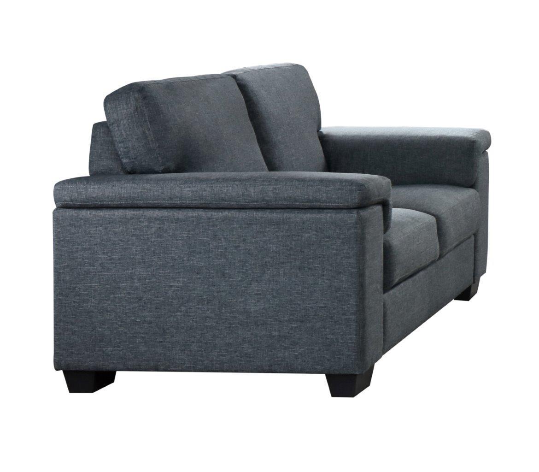 U861 Gray Fabric Loveseat By Global Furniture