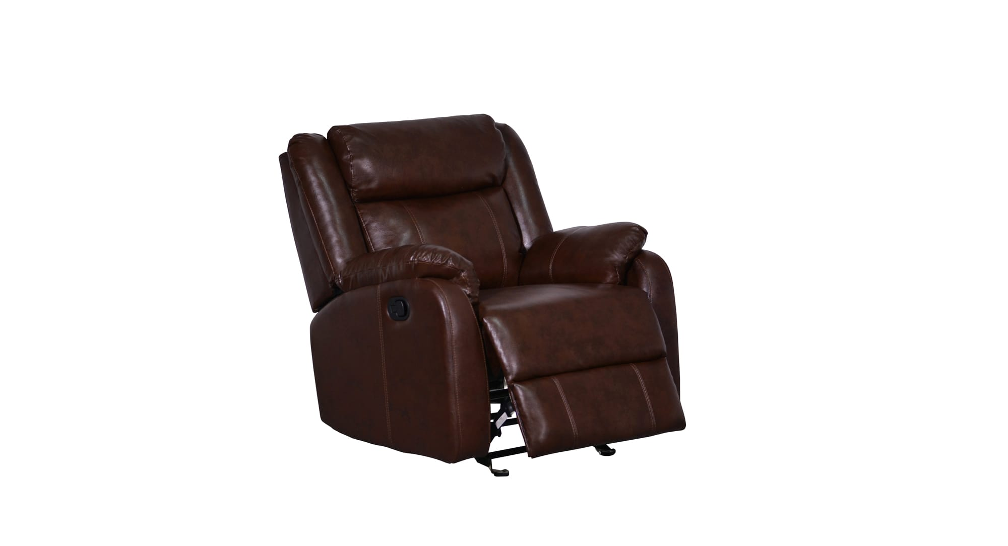 U9303C Brown Bonded Glider Reclining Chair by Global Furniture