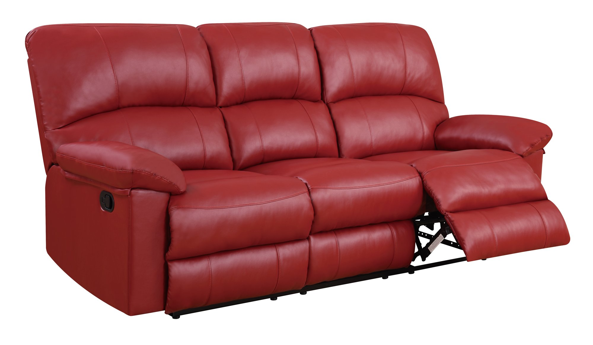 Photo Red Reclining Sofa Images Serta Sofa Reviews Images At  ~ Red Reclining Sectional Sofa
