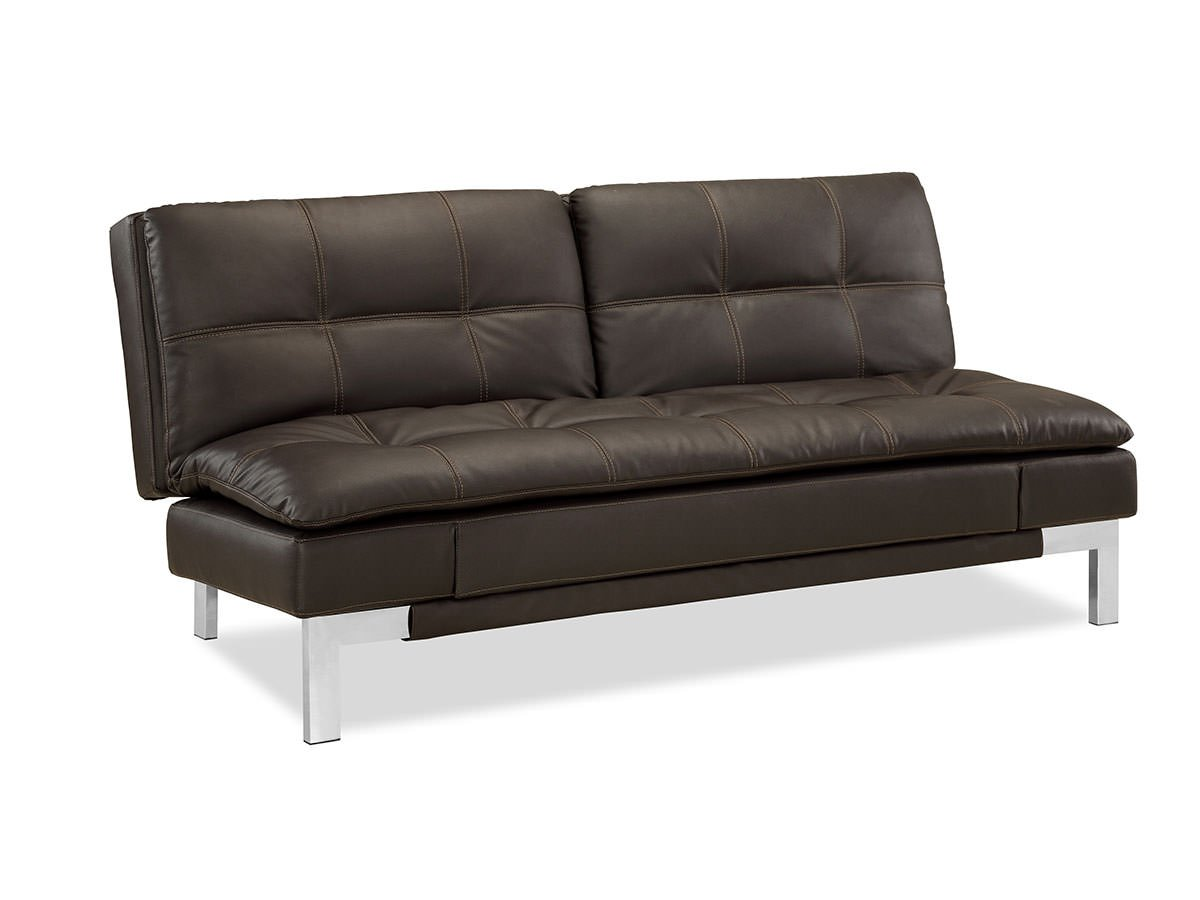 valencia convertible sofa java by serta lifestyle