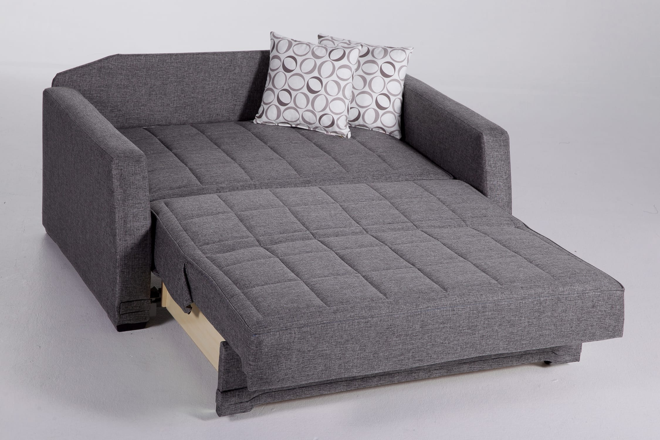Valerie Diego Gray Loveseat Sleeper By Istikbal Furniture